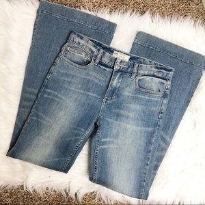 Free People- Flare High Rise Jeans - Size 31